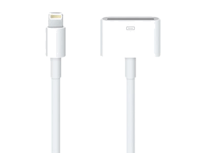 Apple iPhone Lightning 30-pin Adapter0,2