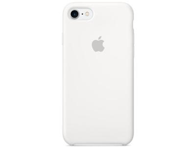 Apple IP7 Silicone Case White