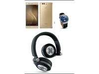 Huawei P9 Plus Brushline Gold m/JBL OC