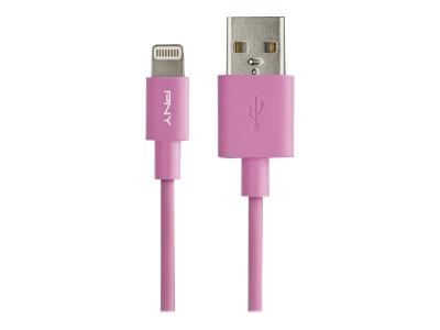 PNY Kabel Apple Lightning  1.2m Pink