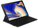 Samsung Book Cover Keyboard Tab S4 Black
