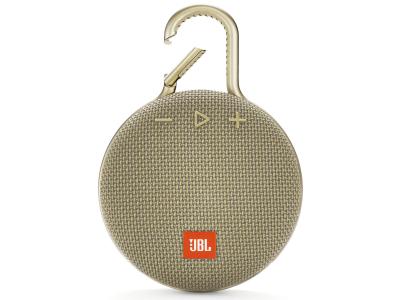 JBL Clip 3 IPX7 Sand