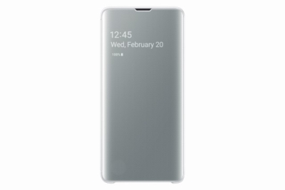Samsung Clear View Cover S10 White
