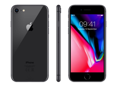 Apple iPhone 8 128 GB Space Grey O2C