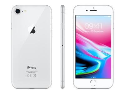 Apple iPhone 8 128 GB Silver O2C