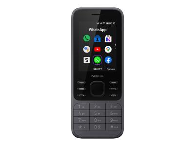 Nokia 6300 4G DS EU Charcoal