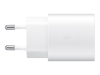 Samsung Adapter USB-C 25W w/o Cable WHT